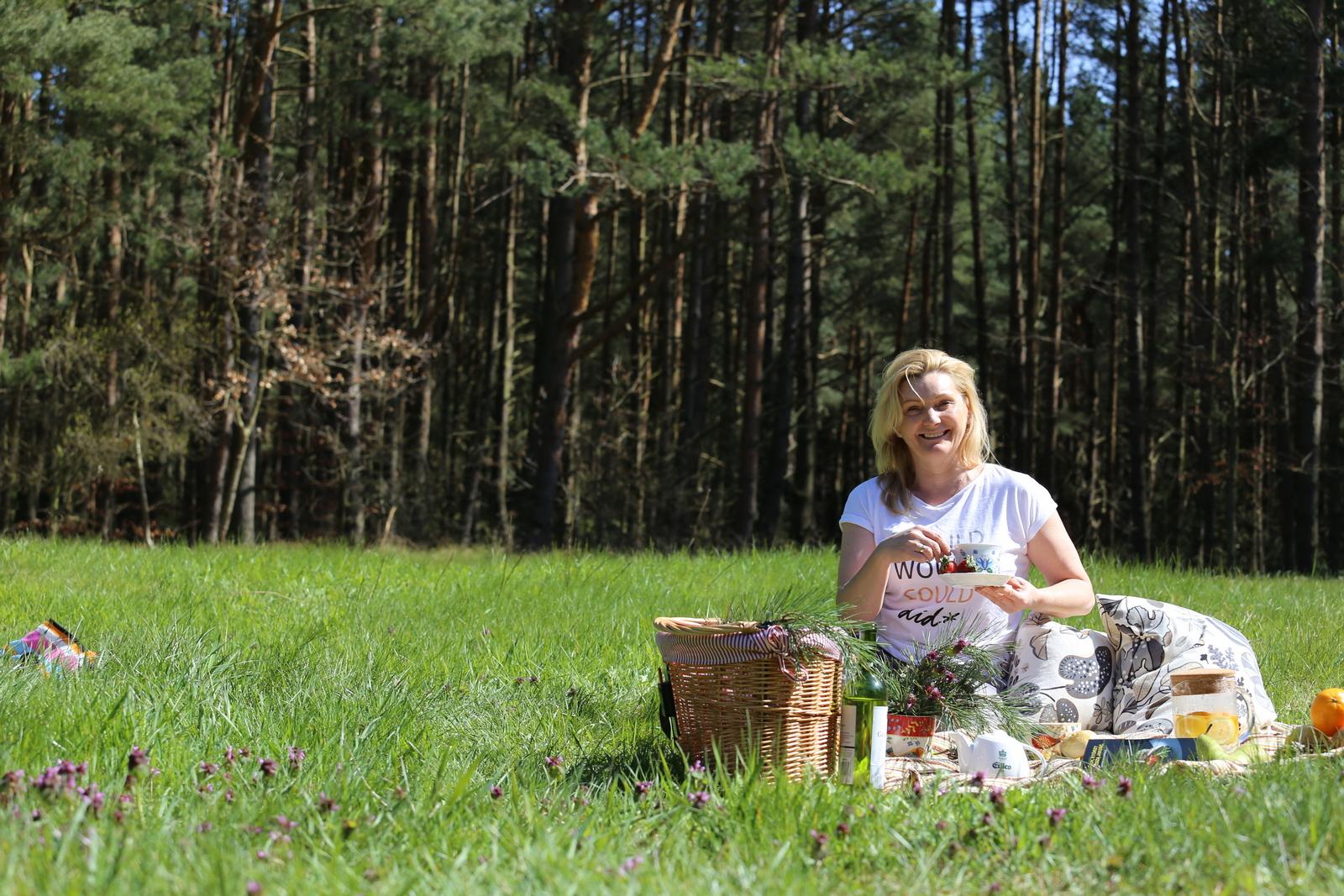 pikniki w lesie